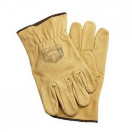 Unlined Pigskin Leather Gloves Promotional Custom Imprinted With Logo