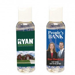 2 oz Hand Sanitizer Promotional Custom Imprinted With Logo