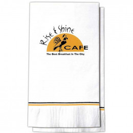 15 x 17 in. Dinner Napkin - 2 ply Promotional Custom Imprinted With Logo