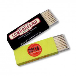Toothpicks Promotional Custom Imprinted With Logo