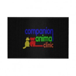 Super Scrape Impressions Logo Mat - 4' x 6' Custom Imprinted With Logo