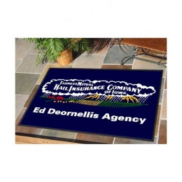 DigiPrint Logo Mat - 4' x 8' with Rubber Backing
