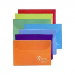 Translucent Flap Portfolio Promotional Custom Imprinted With Logo