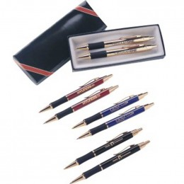 Monte Cristo Pen Set Promotional Custom Imprinted With Logo
