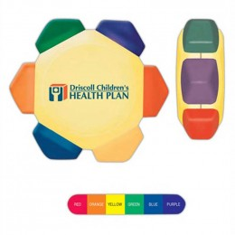 Crayo-Craze Crayon Wheel Promotional Custom Imprinted With Logo