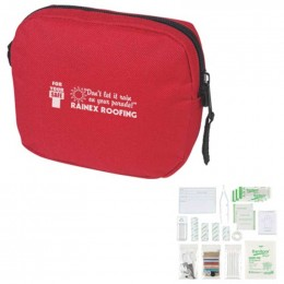 HIT First Aid Kit Promotional Custom Imprinted With Logo