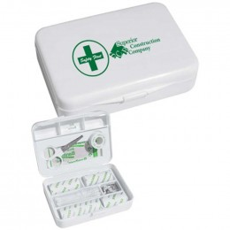 HIT Small First Aid Box Promotional Custom Imprinted With Logo