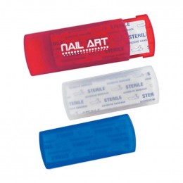 HIT Bandages In Plastic Case Promotional Custom Imprinted With Logo
