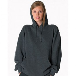 Gildan Ultra Cotton Blend Pullover Hood - Color Promotional Imprinted With Logo