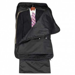 Quadruple Double Garment Bag Promotional Custom Imprinted With Logo