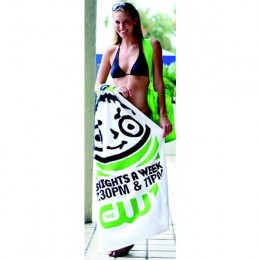 Jewel Collection Beach Towel Promotional Custom Imprinted With Logo
