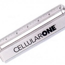 Magnifying Ruler Promotional Custom Imprinted With Logo
