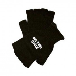 Acylic knit fingerless glove Promotional Custom Imprinted With Logo