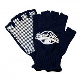 Acrylic knit glove - dotted palm Promotional Custom Imprinted With Logo