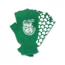 Acrylic knit glove - custom palm Promotional Custom Imprinted With Logo