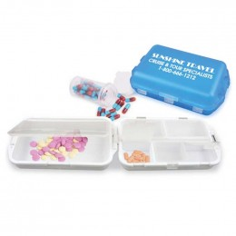 Fill Fold and Fly Medicine Box Promotional Custom Imprinted With Logo