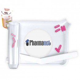 Safe n Easy Pill Counter Tray Promotional Custom Imprinted With Logo