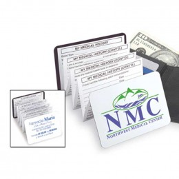 Record Doc Magnetic Medical Diary Promotional Custom Imprinted With Logo