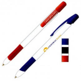 BIC Media Clic Grip Pen Promotional Custom Imprinted With Logo