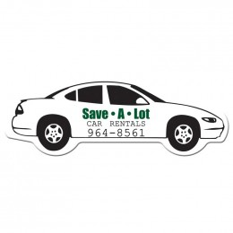 Car Shape Magnet - Medium - 20 mil Promotional Custom Imprinted With Logo