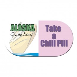Capsule Shape Magnet - Medium - 20 mil Promotional Custom Imprinted With Logo