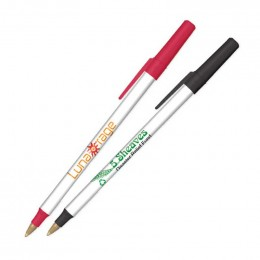 BIC Round Stic Ecolutions Pen made with Recycled Plastic Promotional