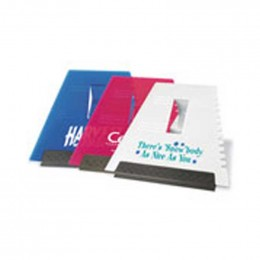 Visor-Clip Squeegee/Scraper Promotional Custom Imprinted With Logo