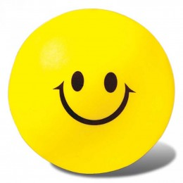 Smiley Face Stress Reliever Promotional Custom Imprinted With Logo