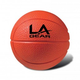 Basketball Stress Ball Promotional Custom Imprinted With Logo