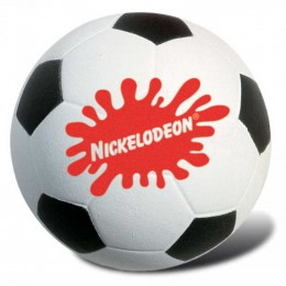 Soccer Ball Stress Reliever Promotional Custom Imprinted With Logo