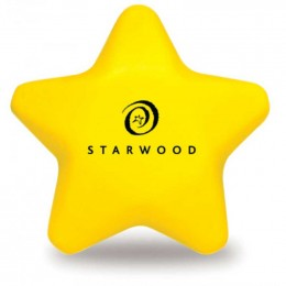 Star Stress Reliever Promotional Custom Imprinted With Logo