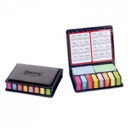 Deluxe Sticky Note Organizer Promotional Custom Imprinted With Logo