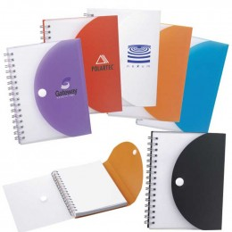 Herald Spiral Notebook Promotional Custom Imprinted With Logo