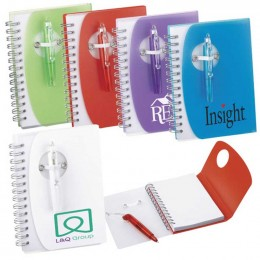 Tribune Spiral Notebook Promotional Custom Imprinted With Logo
