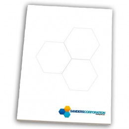 "6"" x 9"" Non-Adhesive Scratch Pad - 50 Sheet Pad Custom Imprinted With Logo"