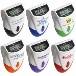Designer Top-View Pedometer Promotional Custom Imprinted With Logo