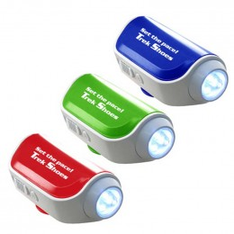 Pedometer with Flashlight & Siren