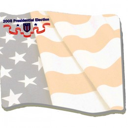 "4""x3"" Flag Sticky Notes - 25 Sheets - 4 Color FREE Promotional Custom Imprinted"