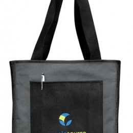 Catalog Pocket Tote Bag Promotional Custom Imprinted With Logo