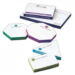 "Thin Sticky Note Cubes - 4"" x 4"" Promotional Custom Imprinted With Logo"