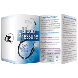 Blood Pressure - Guide & Record Keeper Promotional Custom Imprinted With Logo