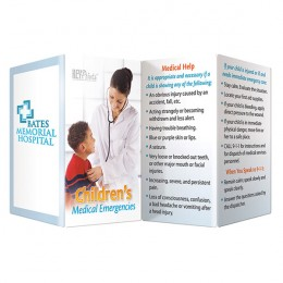 Childrens Medical Emergencies Promotional Custom Imprinted With Logo