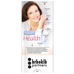 Pocket Slider: Womens Health Promotional Custom Imprinted With Logo