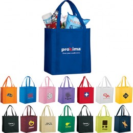 Little Juno Promo Recycled Bags - corporate logo recycled tote bag