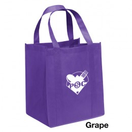 Big Thunder Heavy Duty Reusable Grocery Bag - Grape