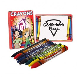 Wholesale Crayons for Kids in 8 Packs - Promotional Arts & Crafts Supplies