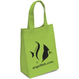 Mighty Small Ike Tote Bag - Lime Green