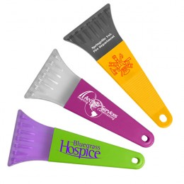 Small Promotional Ice Scrapers for Businesses - 7""