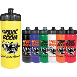 Custom Sport Bottles - Mix or match lids & bottle colors for business logos