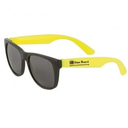 Matte Sunglasses Two Tone- Yellow